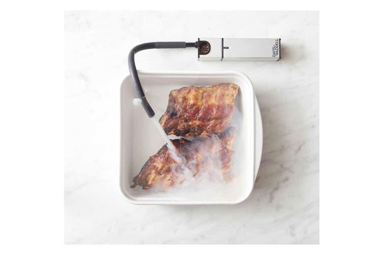 2PK Davis & Waddell Infusion Smoker Food Drink Steak Cheese Smoking Tool Gadget