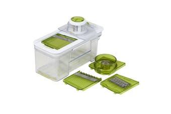 Davis & Waddell 5in1 Mandolin Food Vegetable Slicer Chopper Cutter w  Container