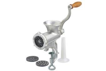Davis & Waddell Food Meat Mincer No8 Sausage Maker Cast Iron Manual Grinder Mill