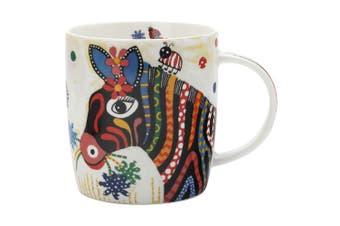 Maxwell & Williams Stripes Smile Style Mug 370ml Zebra for Coffee Tea Drink