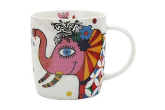 Maxwell & Williams Princess Smile Style Mug 370ml Elephant for Coffee Tea Drink