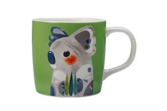 Maxwell & Williams 375ml Pete Cromer Porcelain Koala Mug Cup Glass Coffee Tea