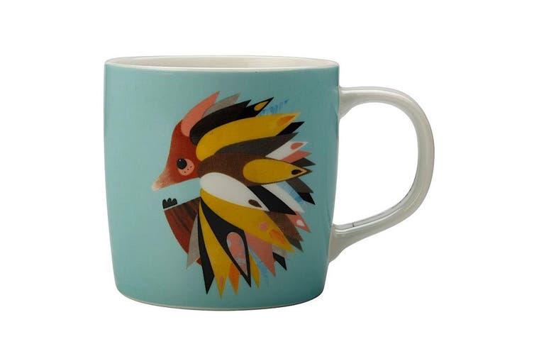 Maxwell & Williams 375ml Pete Cromer Porcelain Echidna Mug Cup Glass Coffee Tea