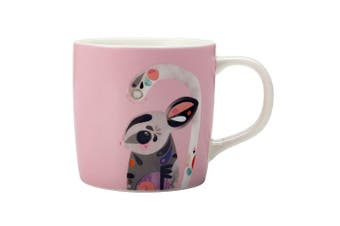 Maxwell & Williams 375ml Pete Cromer Sugar Glider Mug Cup Glass for Coffee Tea
