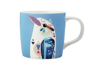 Maxwell & Williams 375ml Pete Cromer Porcelain Kookaburra Mug Cup for Coffee Tea