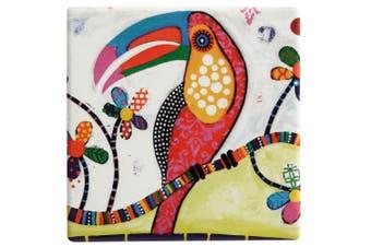 Maxwell & Williams Smile Style Ceramic Tile Coaster Tango 9cm Placemat