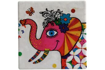 Maxwell & Williams Smile Style Ceramic Tile Coaster Princess 9cm Placemat
