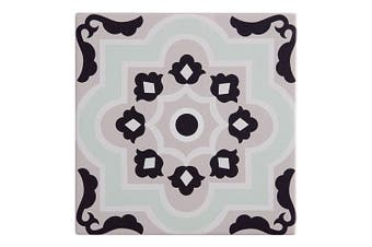 Maxwell & Williams 15cm Medina Ceramic Square Tile Trivet Pad f Pot Pan Laranche