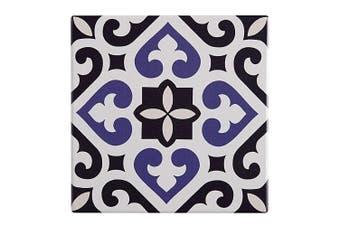 Maxwell & Williams 15cm Medina Ceramic Square Tile Trivet Pad f Pot Pan Azrou