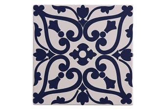Maxwell & Williams 15cm Medina Ceramic Square Tile Trivet Pad f Pot Pan Maarif