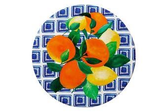 Maxwell & Williams 20cm Positano Ceramic Round Tile Trivet Pad f Pot Pan Citrone