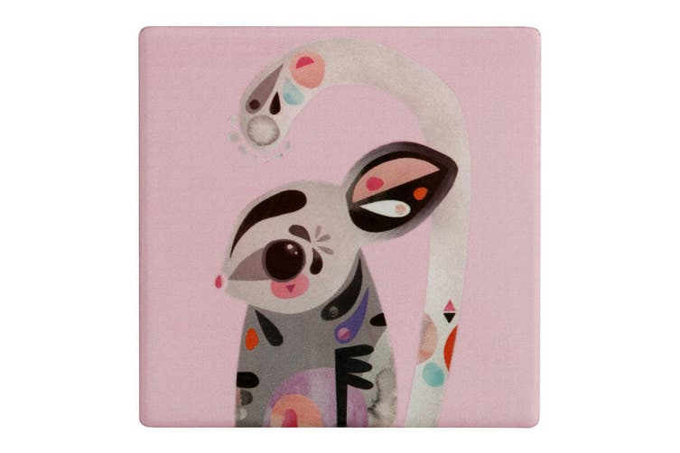 Maxwell & Williams Pete Cromer Ceramic Sugar Glider Square Tile Drink Coaster