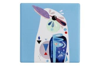 Maxwell & Williams Pete Cromer Ceramic Kookaburra Square Tile Cup Drink Coaster