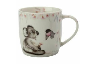 Maxwell & Williams Sally Howell 340ml Mug Cup Tea Coffee Hot Tin GB Koala Robin