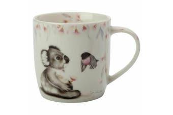 Maxwell & Williams Sally Howell 340ml Mug Cup Tea Coffee Hot Tin GB Koala Robin
