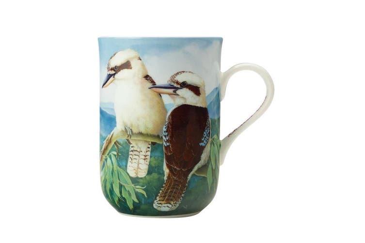Maxwell & Williams Birds Of Australia 300ml Bone China Mug Coffee Cup Kookaburra