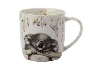 Maxwell & Williams Sally Howell Porcelain 340ml Mug Coffee Drink Cup Koala White