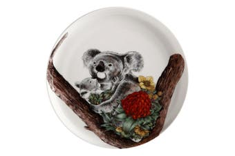 Maxwell & Williams Ferlazzo Australian Families High Rim 20cm Plate Koala Cuddle
