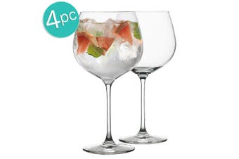 4pc Ecology Classic 780ml Clear Cocktails Gin & Tonic Balloon Party Glasses