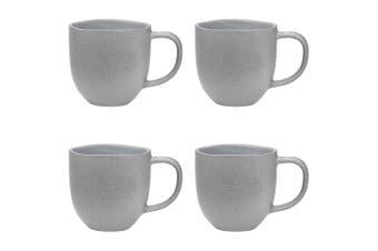 4x Ecology 340ml Stoneware Coffee Tea Dwell Mug Dishwasher Safe Cup Pebble