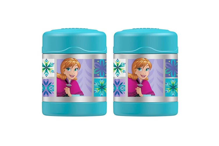 2PK Thermos Funtainer 290ml Food Drink Jar Stainless Steel Vacuum Flask Frozen