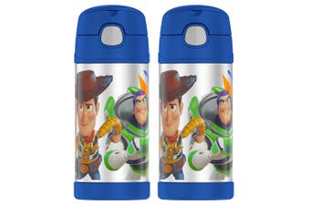 2PK Thermos 355ml Funtainer Insulated Stainless Steel Drink Bottle Toy Story BL