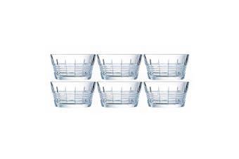 6PK Cristal D'Arques Rendez - Vous 12cm Small Snacks Glass Bowl Servingware