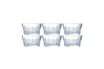 6PK Cristal D'Arques Rendez - Vous 12cm Small Snacks Glass Bowl Servingware