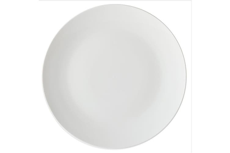 Maxwell & Williams White Basics Round Porcelain 19cm Coupe Side Plate