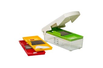 Progressive Prepworks Manual Fruit Vegetable Kitchen Food Chopper Slicer Cutter