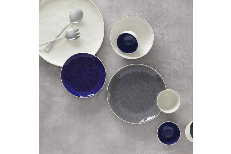 Maxwell & Williams Wayfarer 33cm Platter Round Stoneware Serving Plate Smoke