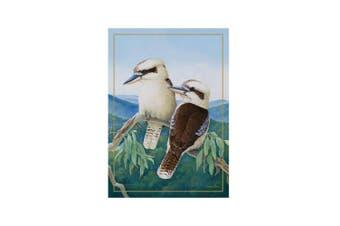 Maxwell & Williams Birds Of Australia Cotton Tea Towel Kitchen Cloth Kookaburra