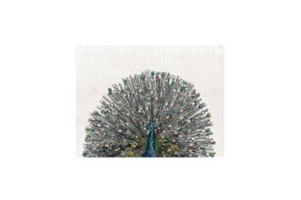 Maxwell & Williams Marini Ferlazzo 70cm Birds Tea Towel Cotton Cloth Peacock