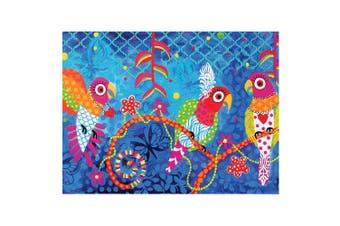 Maxwell & Williams Love Heart 50x70cm Cotton Kitchen Tea Towel Dish Cloth Rainbo