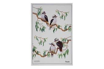 Maxwell & Williams Birdsong Kitchen Cleaning Dishcloth Dish Tea Towel Kookaburra