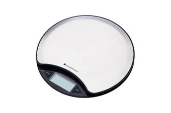 Mastercraft LCD Electronic Round Duo 5KG  Kitchen Food Weight Digital Scale SL