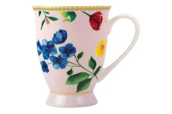 Maxwell & Williams Teas & C's Contessa 300ml Floral Footed Mug Tea Coffee Rose