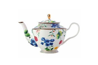 Maxwell & Williams Teas & C's Contessa 1L Teapot w Stainless Steel Infuser White