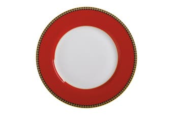 Maxwell & Williams Teas & C's Contessa Classic 19.5cm Dessert Side Rim Plate Red