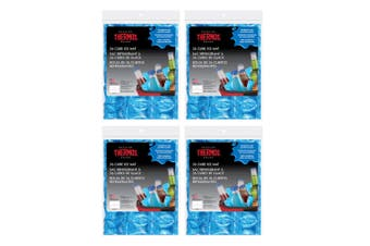 4PK Thermos 36 Cube Ice Mat Reusable Chillers Coolers f  Beers Champagne Blue