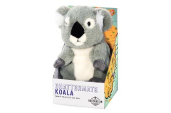 Is Gifts Australia Collection Chattermate Stuffed Toy Soft Doll Baby 12m+ Koala