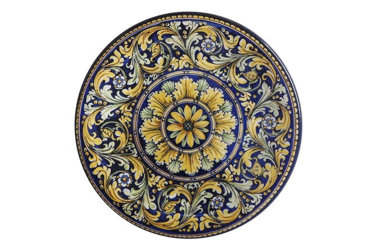 Maxwell & Williams Ceramica 26.5cm Salerno Ceramic Round Dinner Plate Piazza