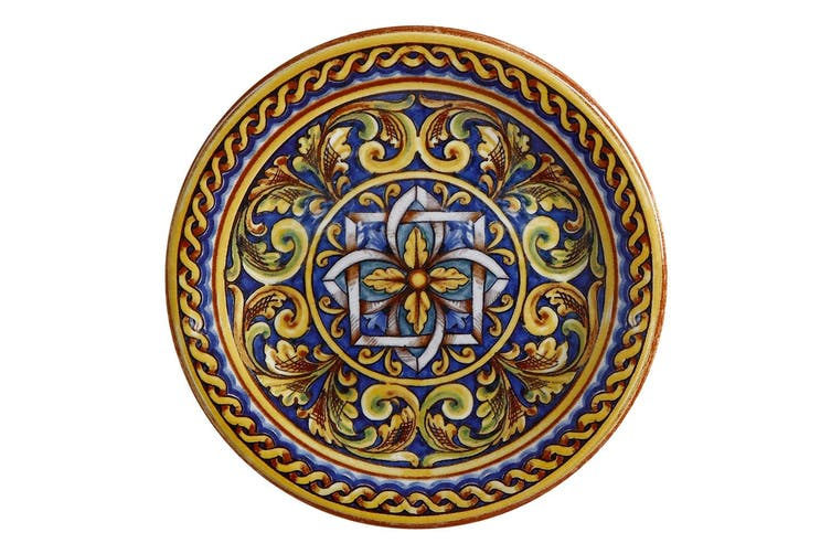 Maxwell & Williams Ceramica 26.5cm Salerno Ceramic Round Dinner Plate Duomo