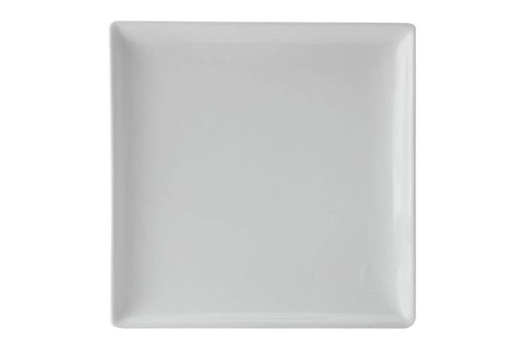 Maxwell & Williams 35cm Banquet Square Ceramic Serving Food Platter Plate White
