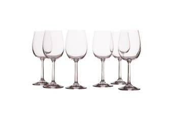 6pc Casa Domani 350ml Evolve Red Wine Glass Glasses Bar Tableware Drinks Set