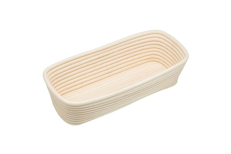 Kitchen Craft Rattan Rectangle Loaf Proving Basket Rising Proofing Bread Dough