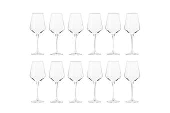 12pc Krosno Avant-Garde 390ml White Wine Drinkware Glass Barware Drinking Glass