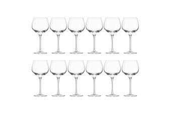 12pc Krosno Harmony Collection 570ml Red Wine Glass Barware Bar Drinking Glasses
