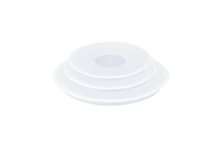 3pc Tefal Ingenio 16 18 20cm Stackable Plastic Lids Cover for Ingenio Cookwares