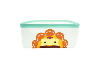 Marcus & Marcus Baby Kids Foldable Storage Basket Box Organiser w  Handles Lion